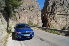 Ruta-El-Caminito-del-Rey-Skoda-Octavia-El-Chorro-Malaga