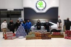 Reportaje-Entrega-Alimentos-Corazones-Solidarios-Skoda-Dismoauto