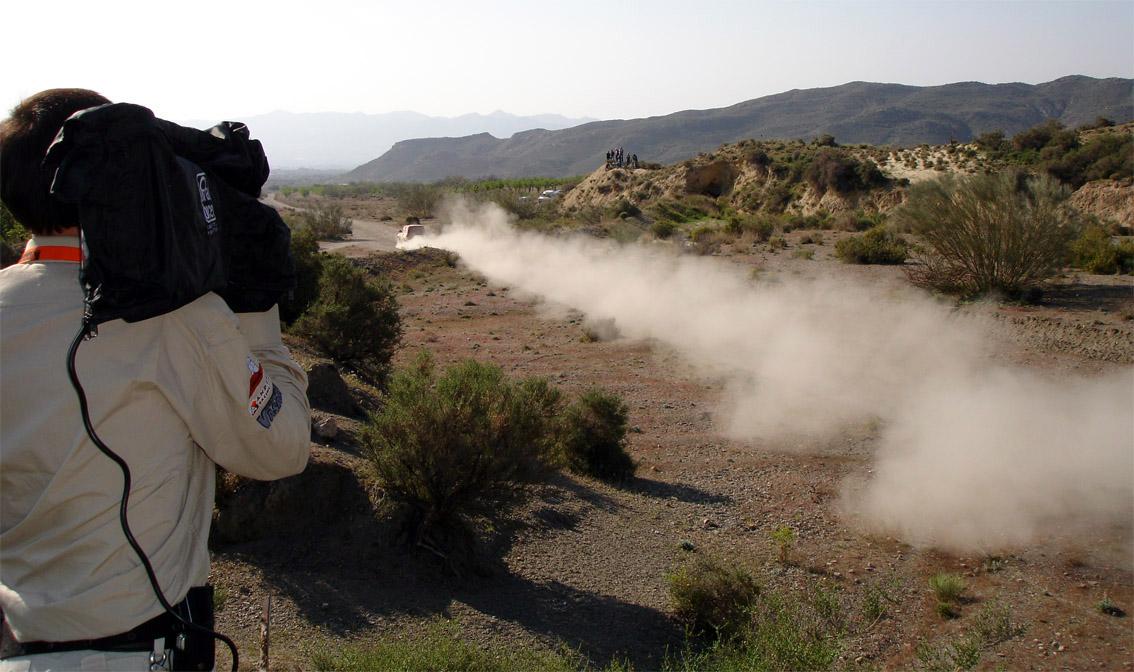 Grabación Rally Baja Almanzora.