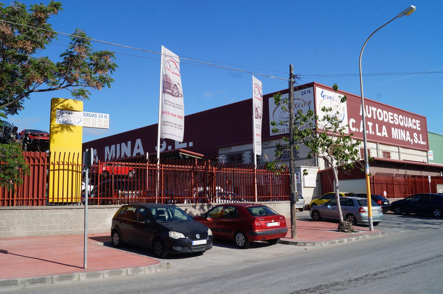 Autodesguace CAT La Mina