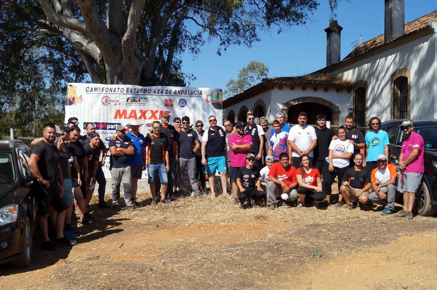 Entrenamiento Extreme 4x4 organizado por el Club Deportivo Team Zapatito 4x4 en Finca Kosso.