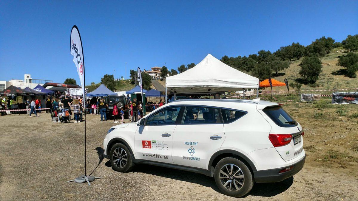 DFSK Málaga ya estuvo presente en la prueba de Pizarra del año pasado.