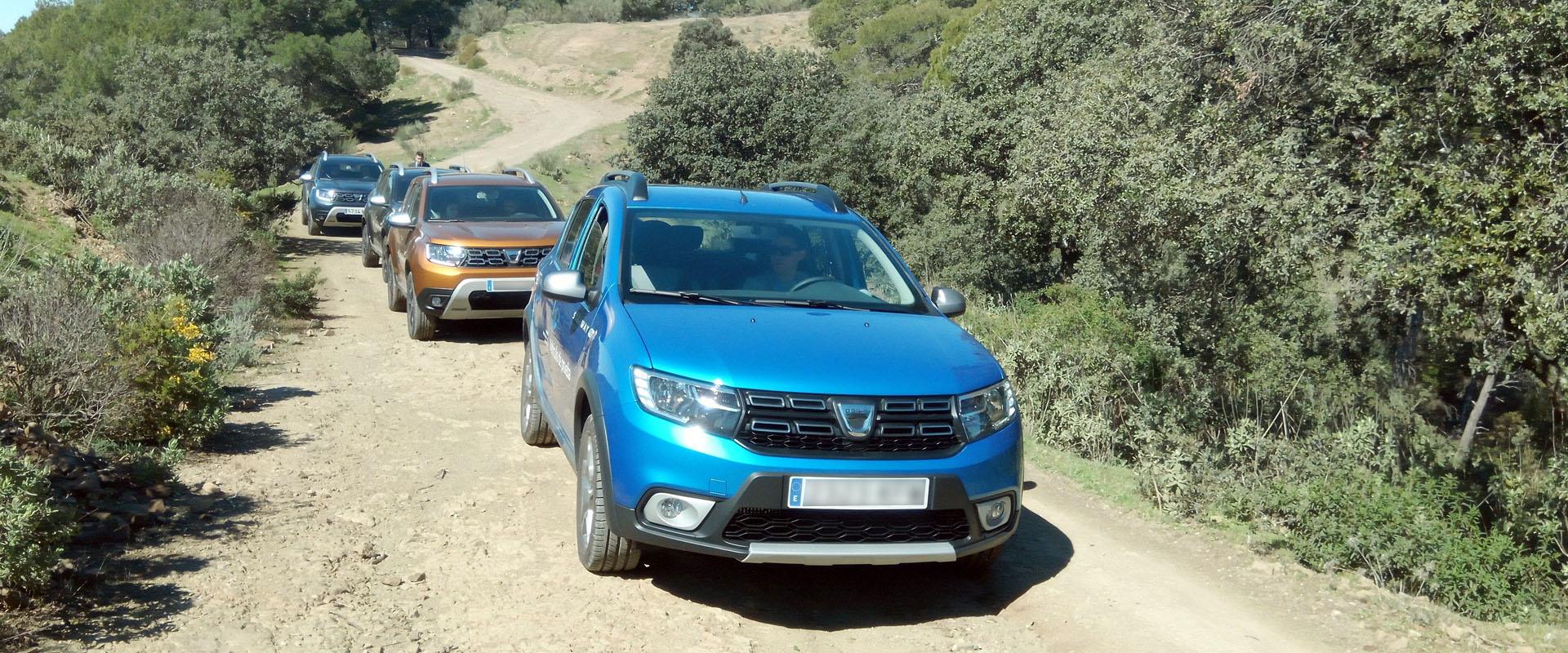 Ruta 4x4 con Dacia.