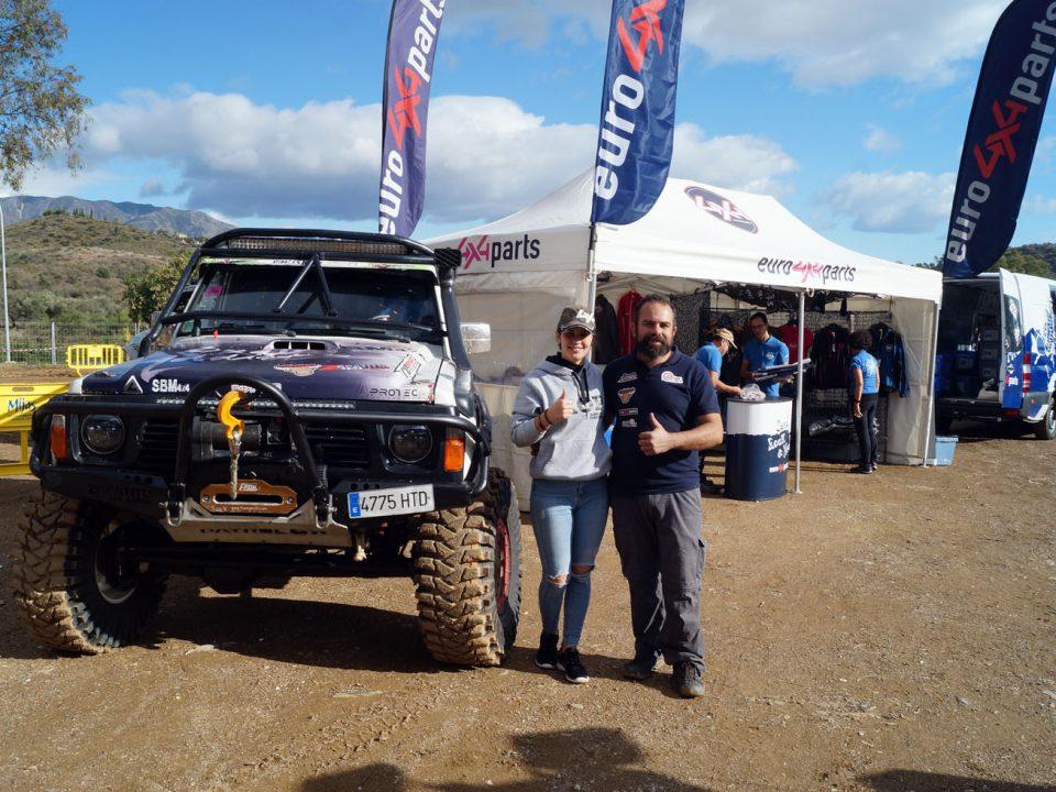 Raquel Cecilia y Manuel Campos se preparan para su participación en el CISET 4x4 2021.