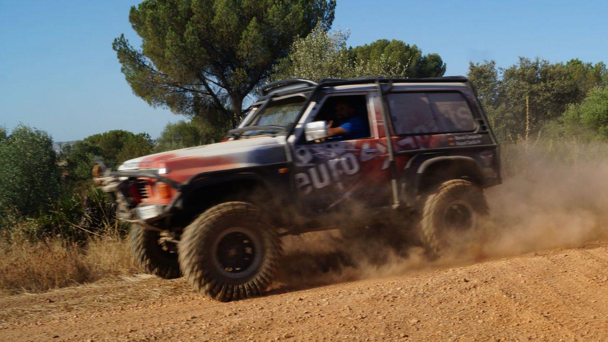 Manuel Campos y Raquel Cecilia, Team Zapatito 4x4.